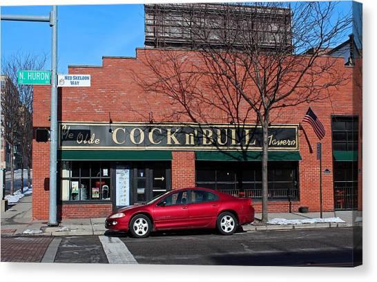 Ye Olde Cock N Bull Canvas Print