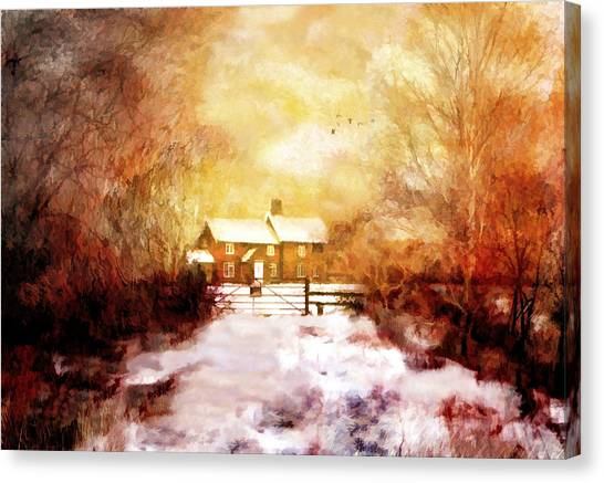 Ye Olde Inn Canvas Print