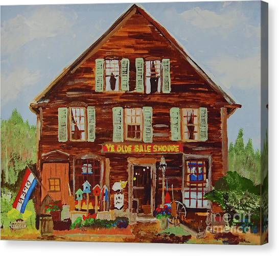 Ye Olde Sale Shoppe Canvas Print