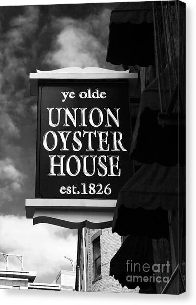 ye olde Union Oyster House Canvas Print by John Rizzuto