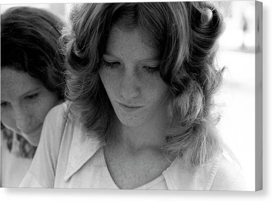 Yearbook Signing, 1972, Part 2 Canvas Print