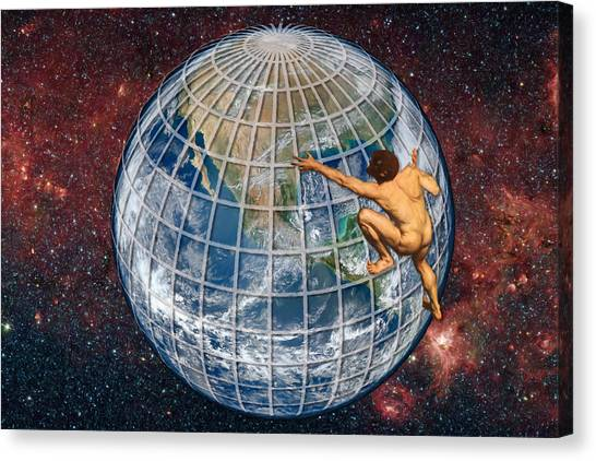 Illegal Aliens Canvas Print - Yearning To Breathe Free by John Haldane