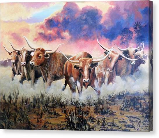 Yee Haw Canvas Print