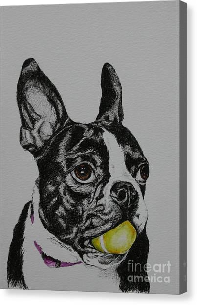 Yellow Ball  Canvas Print