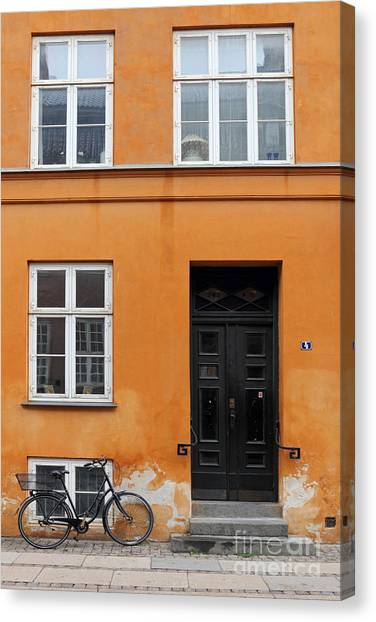 The Orange House Copenhagen Denmark Canvas Print
