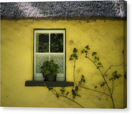 Yellow House County Clare Ireland Canvas Print