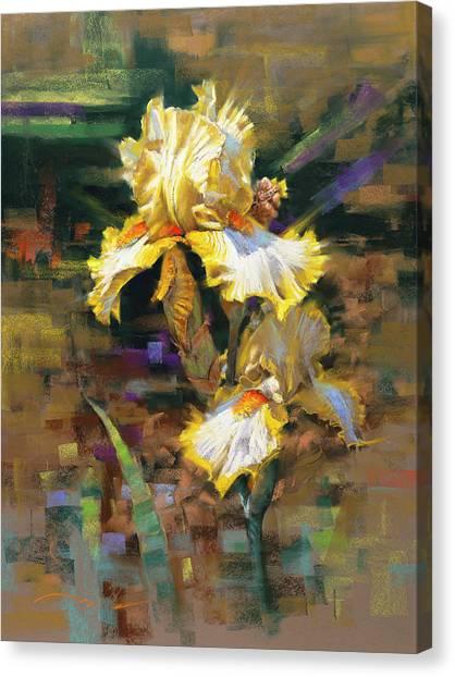 Yellow Iris II Canvas Print
