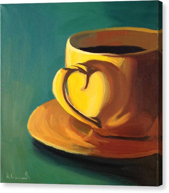 Yellow Java Canvas Print
