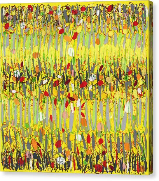 Yellow Jazz Canvas Print