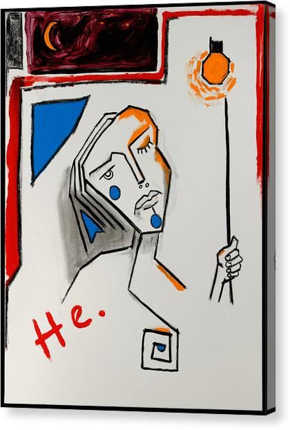 Yellow Light 40x30 Canvas Print