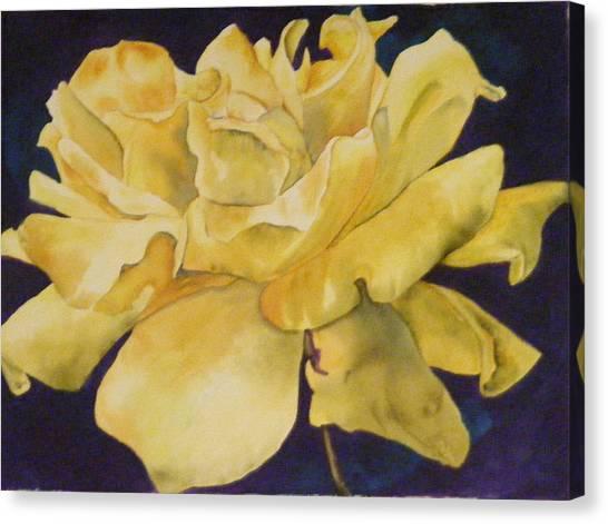 Yellow Rose 101 Canvas Print