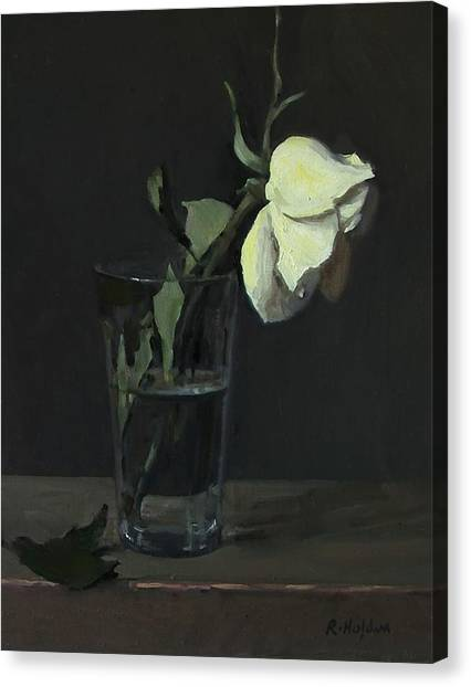 Yellow Rose No. 3 Canvas Print