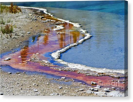 Yellowstone Abstract I Canvas Print