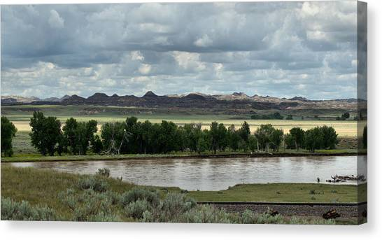 Yellowstone River After The Storm Canvas Print