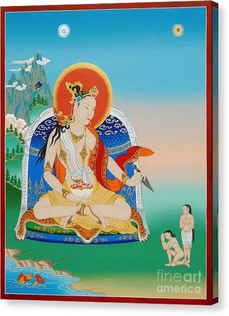 Tantra Canvas Print - Yeshe Tsogyal by Sergey Noskov