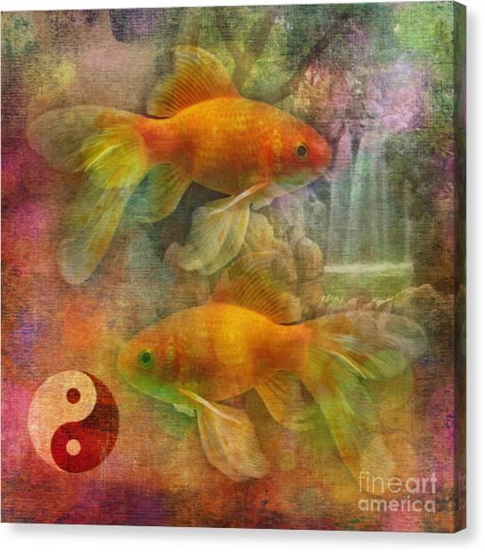 Yin Yang 2015 Canvas Print