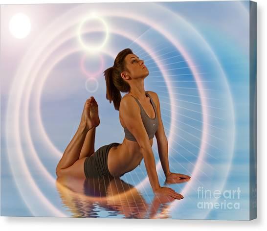 Yoga Girl 1209206 Canvas Print