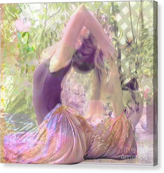 Canvas Print - Yoga by Uldra Johnson
