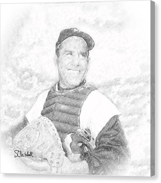 Yogi Berra Canvas Print