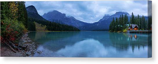 British Columbia Canvas Print - Yoho by Chad Dutson