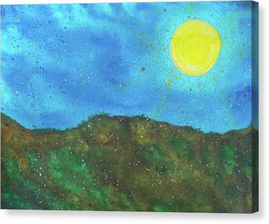 Yokun Ridge Canvas Print by Scott Harrington