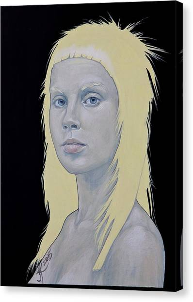 Yolandi Canvas Print by Jovana Kolic