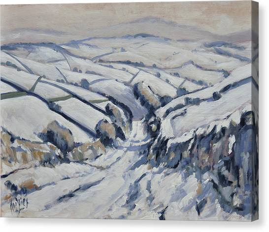 Canvas Print - Yorkshire In The Snow by Nop Briex
