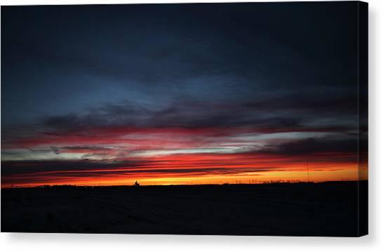 Yorkton Sunrise Canvas Print