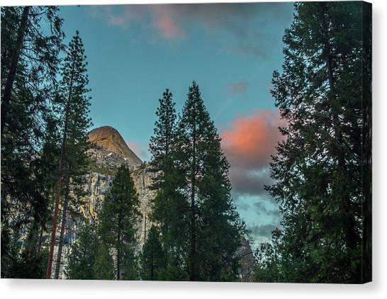 Yosemite Campside Evening Canvas Print