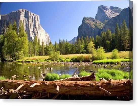 El Capitan Canvas Print - Yosemite  by Craig Sanders