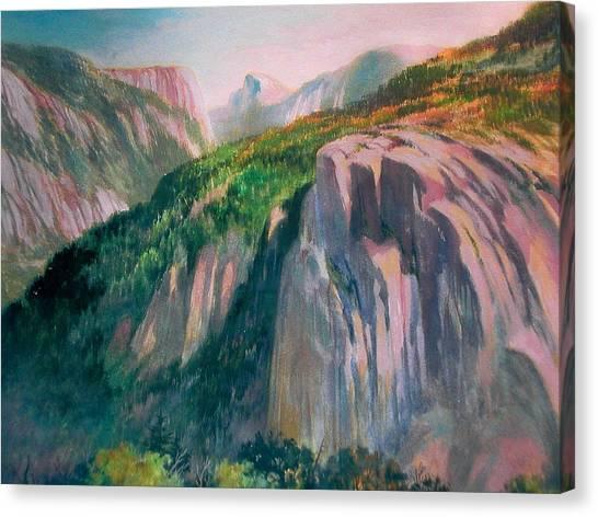 Yosemite Canvas Print by Don Getz
