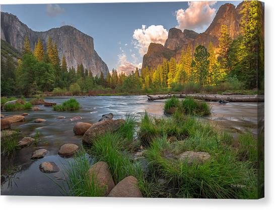 Yosemite Evening Canvas Print