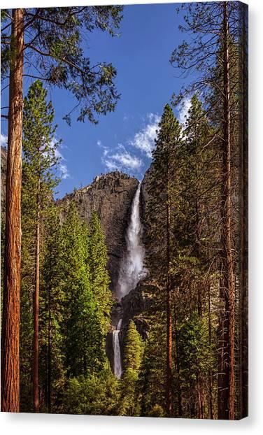 Yosemite Falls Canvas Print - Yosemite Falls by Andrew Soundarajan