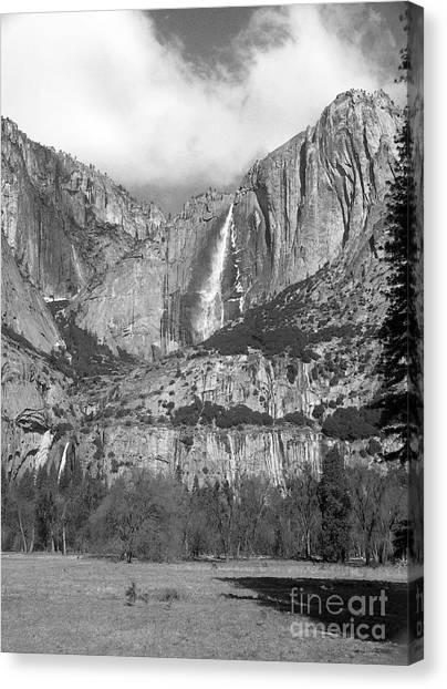 Yosemite Falls Canvas Print by Richard Verkuyl