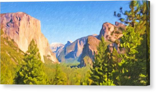 Canvas Print - Yosemite National Park by Impressionist Art