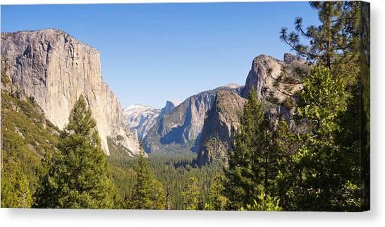 El Capitan Canvas Print - Yosemite Panoramic by Lutz Baar