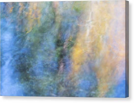 Yosemite National Park Canvas Print - Yosemite Reflections 3 by Larry Marshall