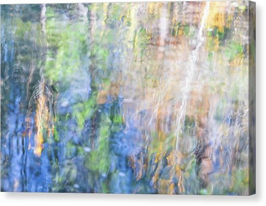Yosemite National Park Canvas Print - Yosemite Reflections 4 by Larry Marshall