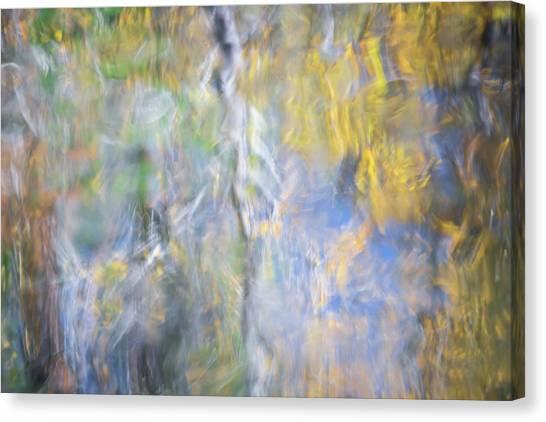 Yosemite National Park Canvas Print - Yosemite Reflections 5 by Larry Marshall