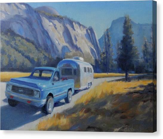 Yosemite Splendor Canvas Print