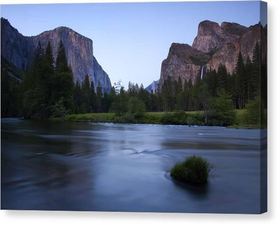 Bridal Canvas Print - Yosemite Twilight by Mike  Dawson