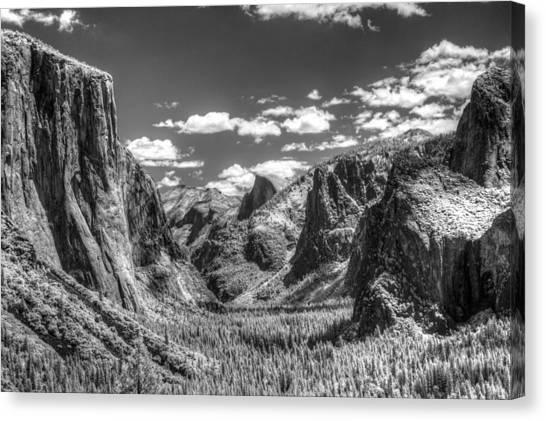 Yosemite Valley Canvas Print by G Wigler