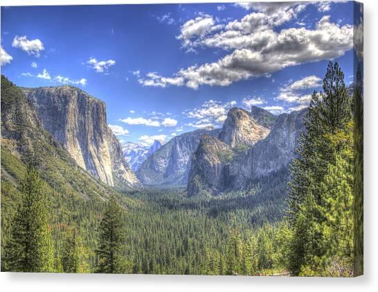 Canvas Print - Yosemite Valley Hdr by G Wigler