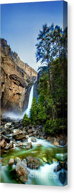 Yosemite Canvas Print - Yosemite Waterfall by Az Jackson