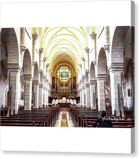 Palestinian Canvas Print - You Are Beautiful! ▪️church Of by Photo By Kei