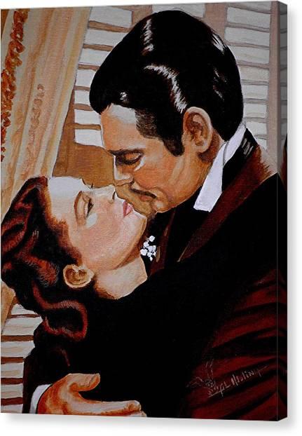 You Need Kissing Badly Canvas Print