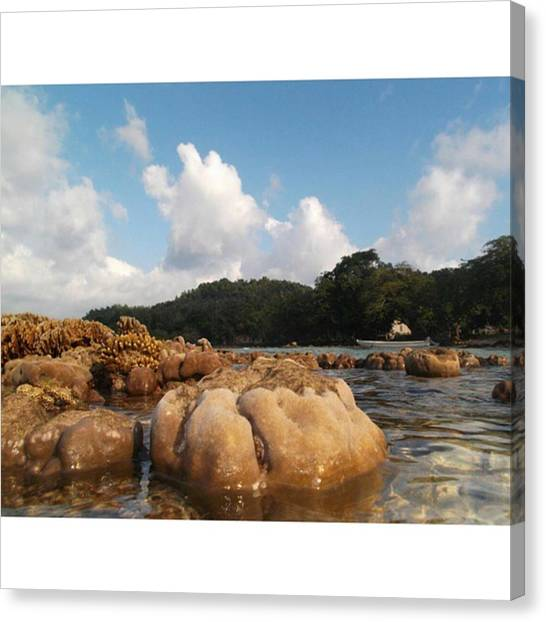 Tsunamis Canvas Print - You Rise From The Ocean, Carrying All by Eleazhar Purba
