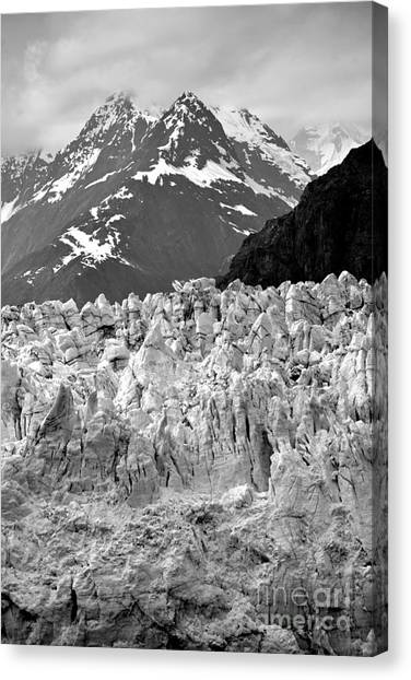 Margerie Glacier Canvas Print - You Shall Not Pass by Jim Chamberlain