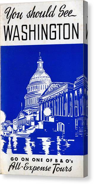 You Should See Washington Canvas Print