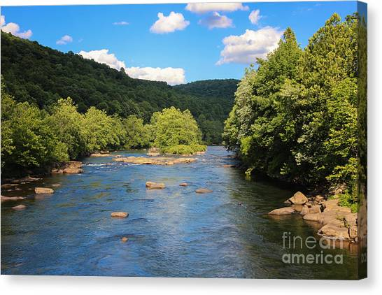 Youghiogheny River Canvas Print